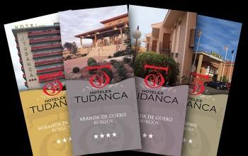 Tr pticos para los hoteles del grupo tudanca folletos for Hoteles en miranda de ebro burgos